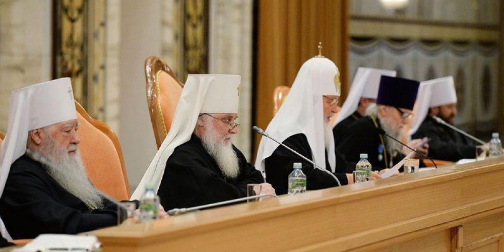 Епархиальное собрание города Москвы состоялось в Храме Христа Спасителя