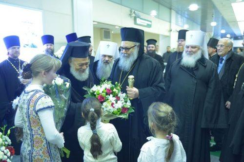 Встреча Блаженнейшего Патриарха Великия Антиохии и всего Востока Иоанна X
