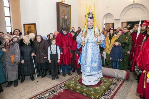 Молодежный клуб «Неофит» и впк «Архистратиг» на празднике православной молодежи в Солнцево