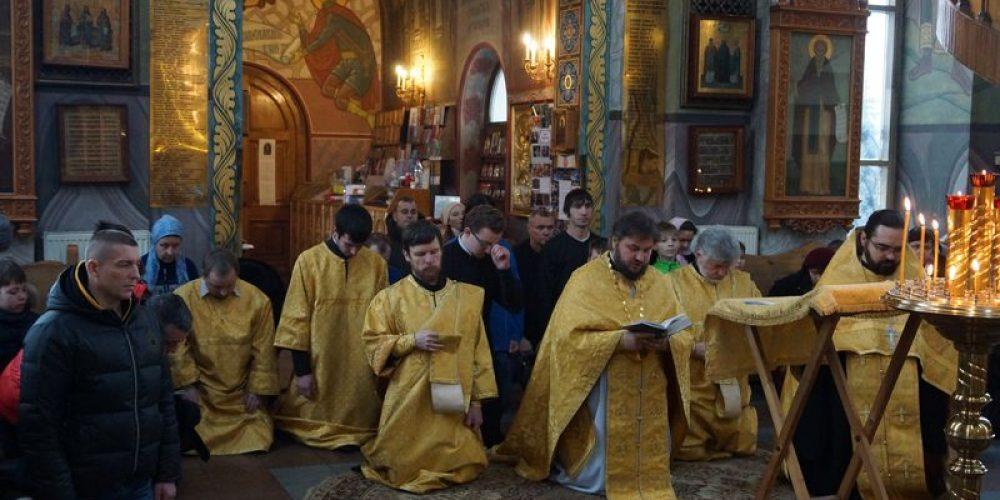 Молебное пение на Новолетие