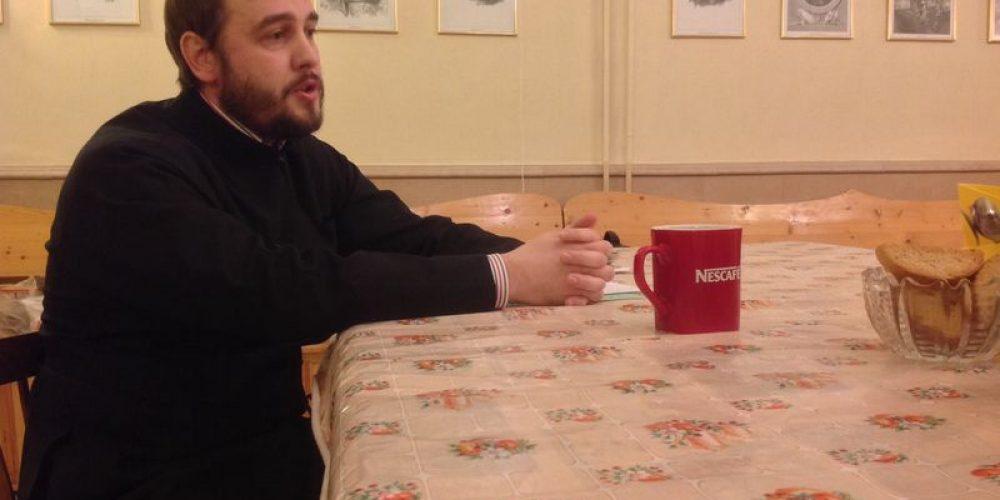 Встреча с иподиаконом Святейшего Патриарха Алексия