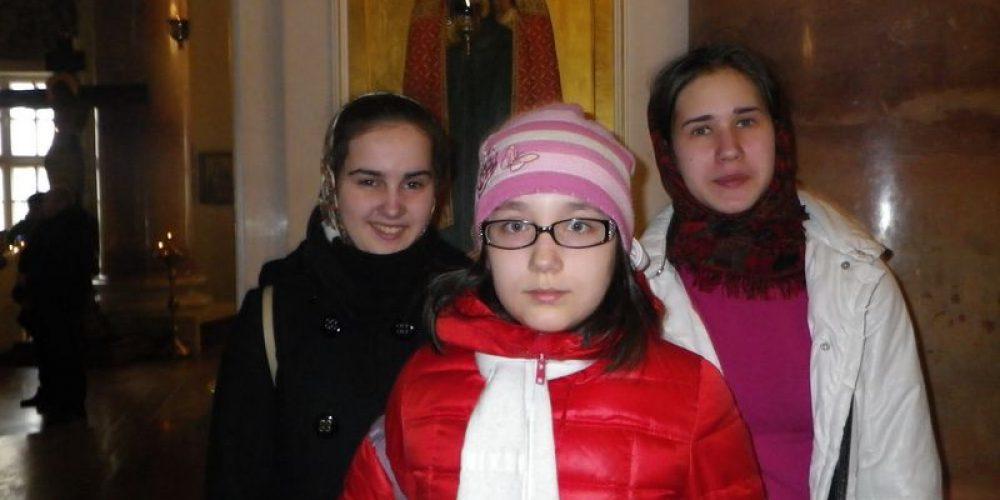 Сестры милосердия на выезде в первой градской больнице