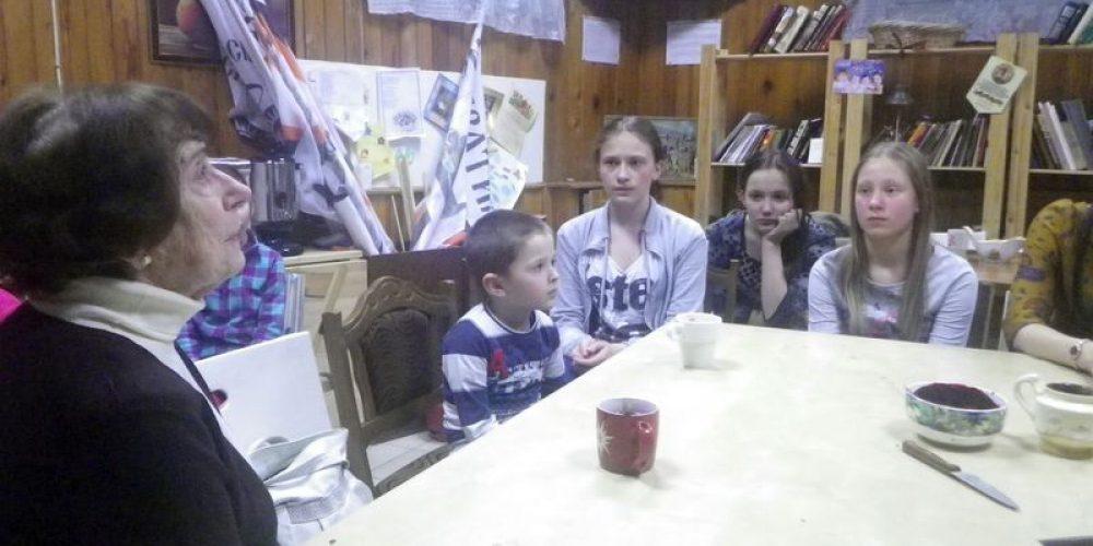 Встреча со свидетелем Сталинградской битвы
