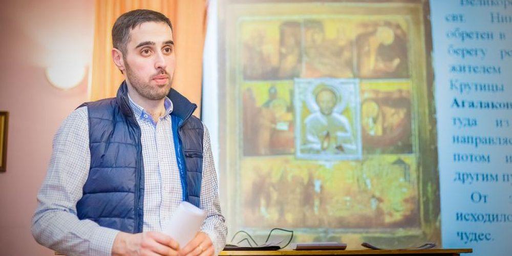 О первой встрече, посвященная выезду в Великорецкий крестный ход