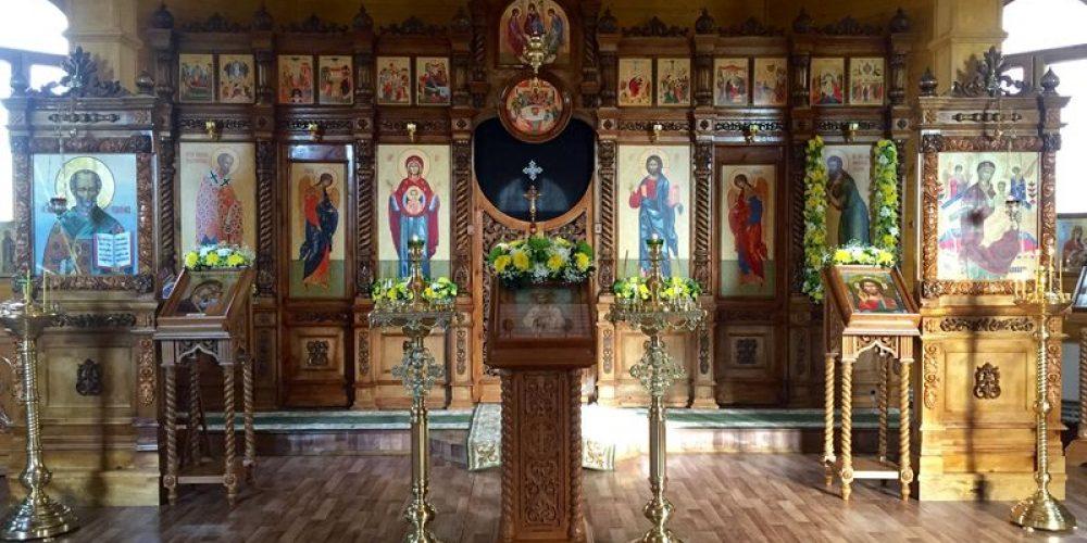 Престольный праздник храма святого праведного Алексея человека Божия