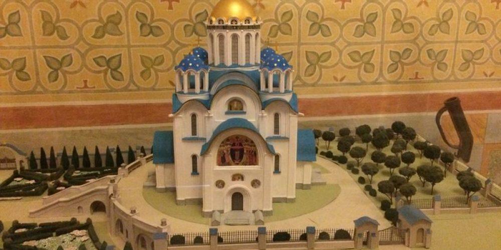 В храме Покрова Пресвятой Богородицы