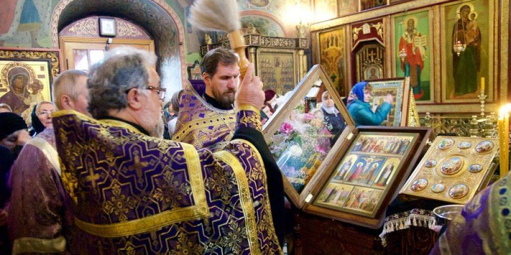 Новая икона «Святая Четыредесятница» в храме!