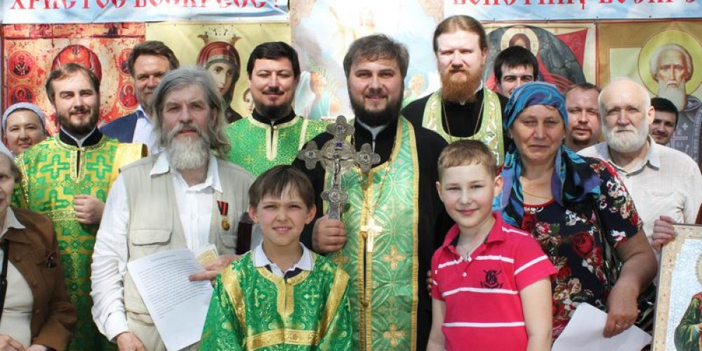 Староста общины Богоявленского собора получил Патриаршую награду