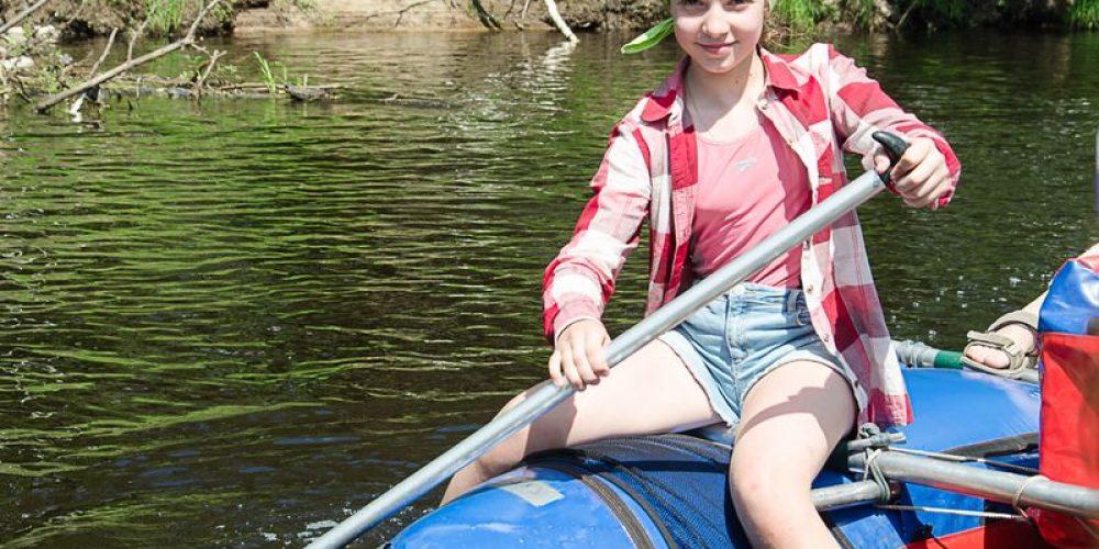 Ежегодный поход-сплав по реке Пра