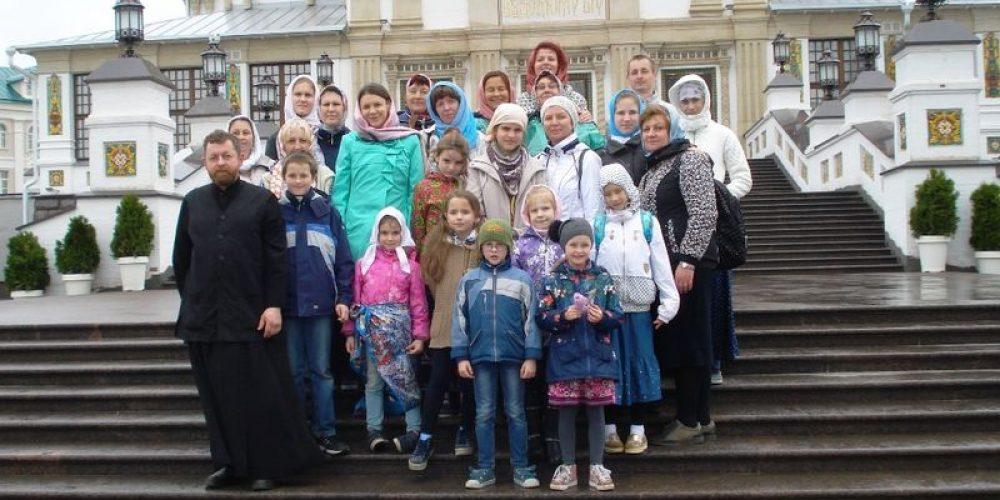 Традиционная майская поездка в Дивеево учеников воскресной школы храма прп. Серафима Саровского в Кунцеве