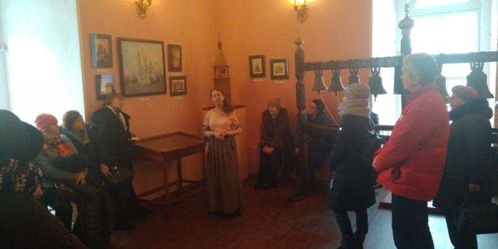 Слушатели лектория при храме прав. Иоанна Русского побывали в музее колокольного звона
