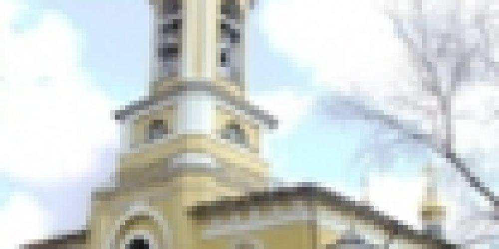 В неделю 11-ю по Пятидесятнице епископ Бронницкий Игнатий совершил божественную литургию в нашем храме