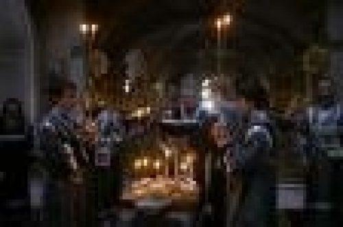 Епископ Игнатий совершил литургию и освятил коливо в Елоховском соборе