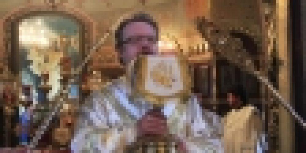 В день воспоминания чуда Архистратига Михаила епископ Бронницкий Игнатий совершил Божественную литургию