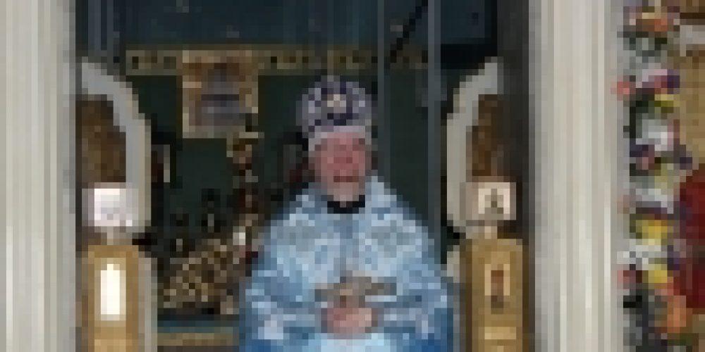 В праздник иконы Божией Матери «Знамение» епископ Бронницкий Игнатий совершил Божественную литургию