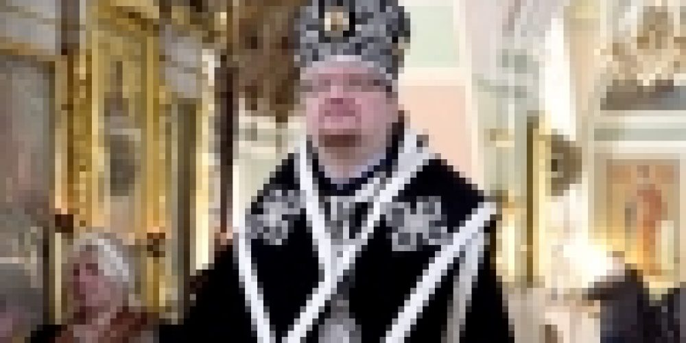 Епископ Выборгский и Приозерский Игнатий совершил Литургию Преждеосвященных Даров в храме Рождества Иоанна Предтечи на Пресне