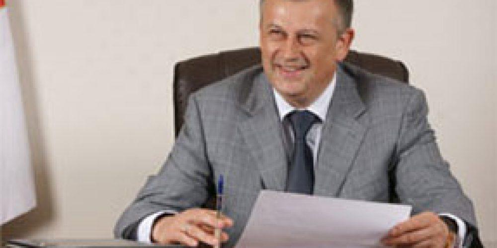 Губернатор Ленинградской области поздравил епископ Выборгского и Приозерского Игнатия с праздником