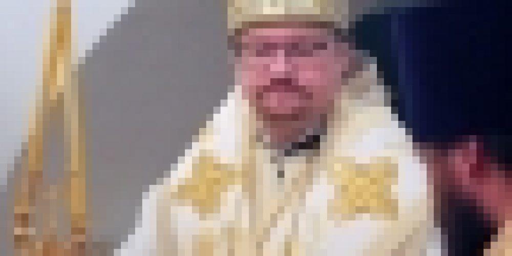 Епископ Выборгский и Приозерский Игнатий совершил Божественную литургию в храме иконы Божией Матери «Неувядаемый цвет» в Рублево