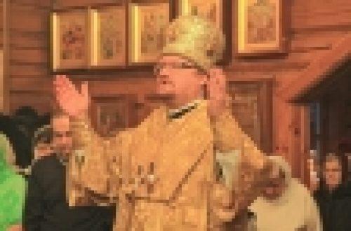 Епископ Выборгский и Приозерский Игнатий управляющий Западным викариатством города Москвы возглавил престольный праздник  храма прп.Серафима Саровского на Филевской Пойме