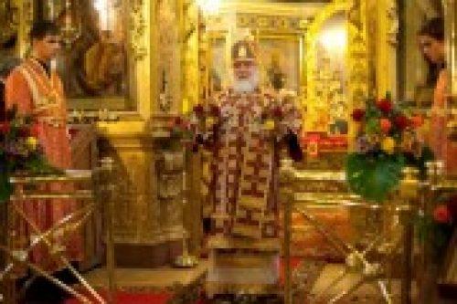 Торжество Престольного праздника в храме Ризоположения на Донской улице