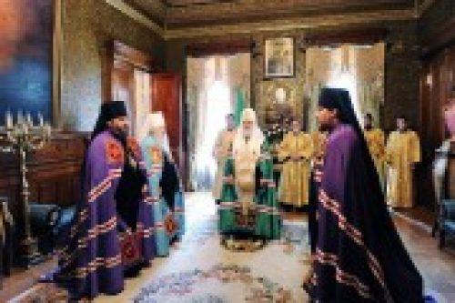 Предстоятель Русской Православной Церкви возглавил чин наречения новых епископов