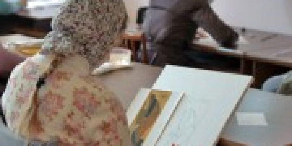 В Иконописной школе при МДА проходят вступительные экзамены