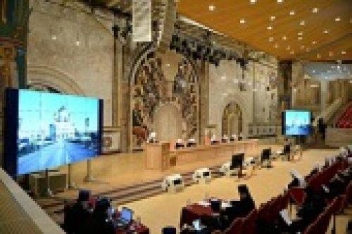 Начался второй день работы пленума Межсоборного Присутствия Русской Православной Церкви