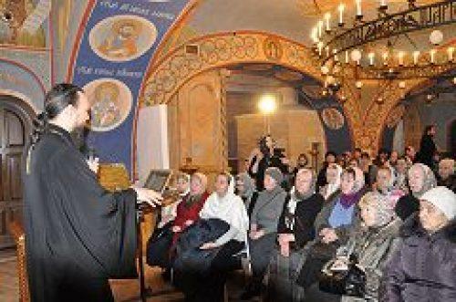 В храме Покрова Пресвятой Богородицы в Ясенево состоялась встреча с главным редактором портала «Богослов.ру» протоиереем Павлом Великановым
