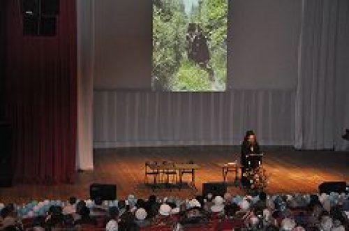 В Культурном центре «Вдохновение» состоялась очередная беседа с архимандритом Мелхиседеком (Артюхиным) из цикла «Детям о главном»