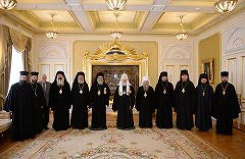 Святейший Патриарх Кирилл встретился с Предстоятелем Антиохийской Православной Церкви