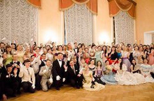 В Доме офицеров Московского военного округа состоялся молодежный Сретенский бал