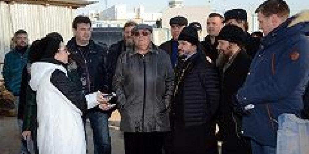 Храм в честь преподобного Сергия Радонежского на Ходынском поле будет введен в эксплуатацию в 2017 году