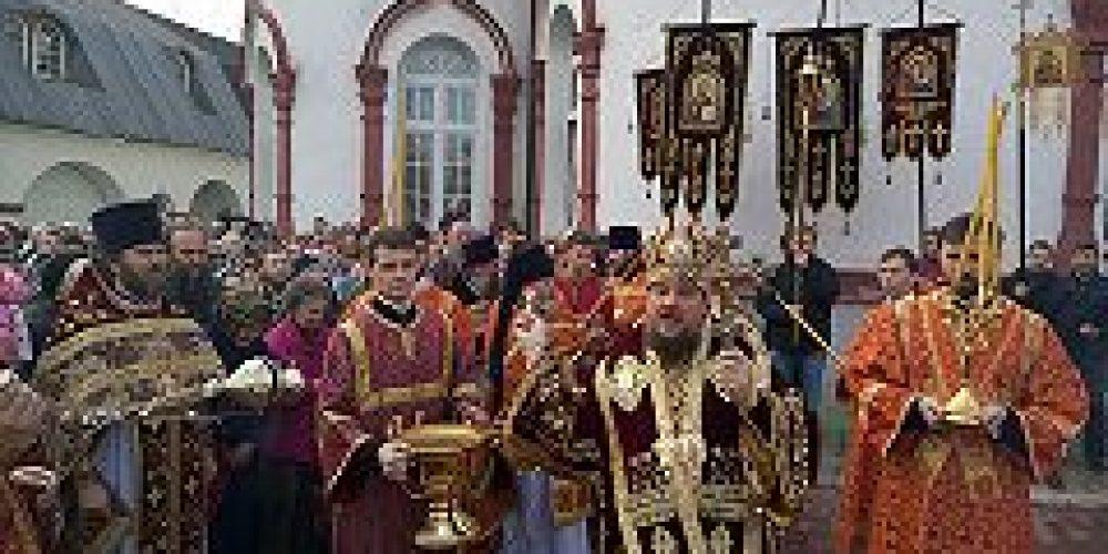 Епископ Солнечногорский Сергий возглавил торжества по случаю престольного праздника храма св. вмч. Димитрия Солунского на Благуше