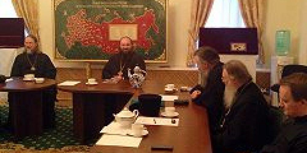 Состоялось заседание Совета Северного викариатства