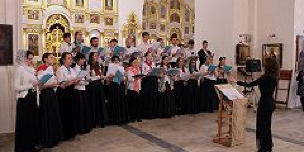В храме святителя Николая на Трех Горах состоялся первый концерт молодежного хора