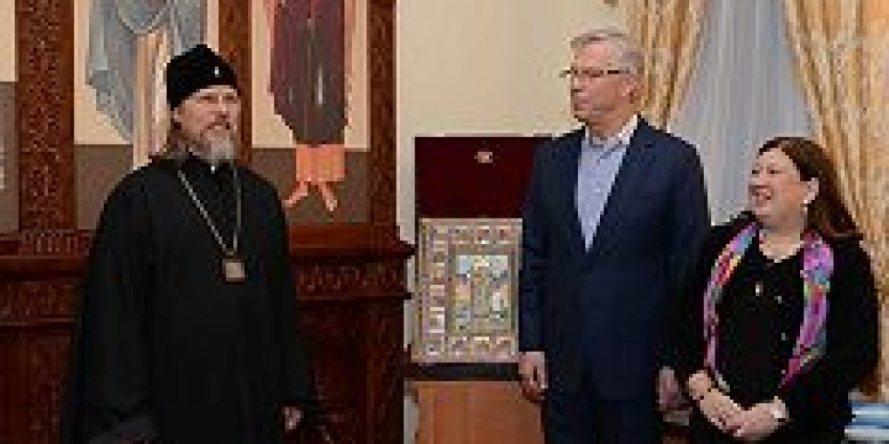Митрополит Рязанский Марк наградил участников выставки православного искусства «Русский Ренессанс»