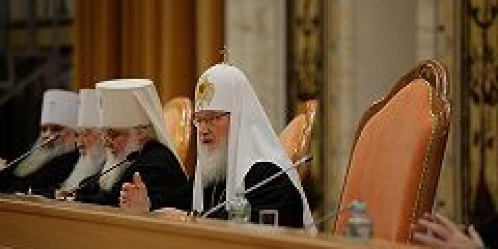Предстоятель Русской Церкви рассказал об исполнении решений Епархиального собрания г. Москвы 2014 года