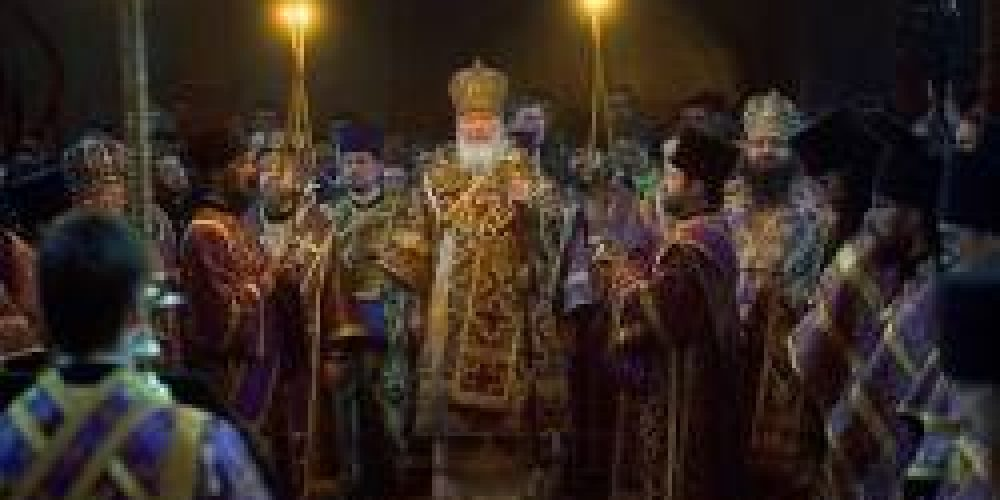 Патриаршее богослужение в Сретенском монастыре (+ФОТО +ВИДЕО) / Православие.Ru