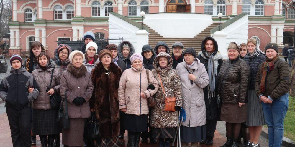Экскурсия в Донской монастырь