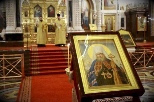 Богослужение в день памяти святителя Филарета, митрополита Московского возглавил епископ Павлово-Посадский Фома