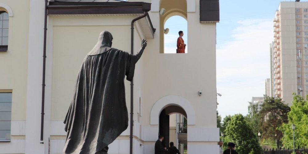 Социальное служение храма священномученика Ермогена в Крылатском в период пандемии