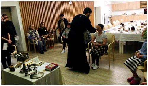 Посещение резиденции для пожилых людей «Идиллия» в праздник Крещения Господня