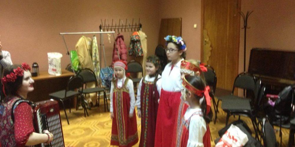 Детская фольклорная студия храма святителя Спиридона Тримифунтского приняла участие в открытом фольклорном фестивале