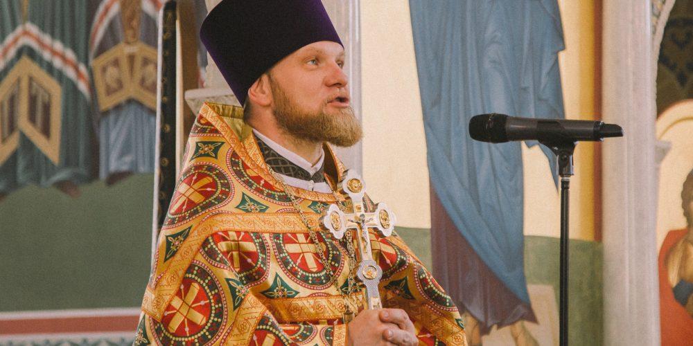 Престольный праздник встретили в храме преподобного Сергия Радонежского в Солнцево
