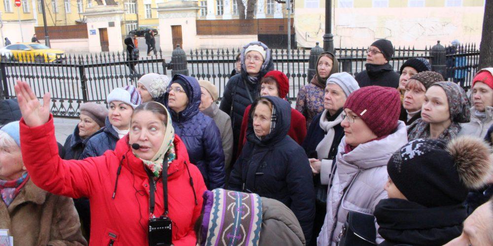 Экскурсия «Православные святыни Замоскворечья», организованная Георгиевским благочинием, прошла в минувшее воскресенье