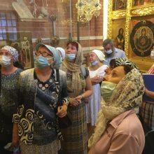 Паломничество по православным святыням Москвы было организовано центром «Георгиевский»