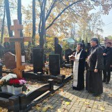 Епископ Одинцовский и Красногорский Фома совершил поминальную Литургию по архимандриту Нестору (Жиляеву)