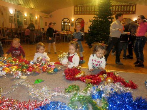 Наша предрождественская елка!