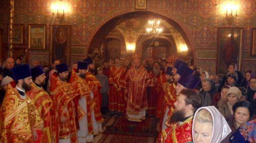 Престольный праздник памяти священномученика Харалампия, епископа Магнезийского