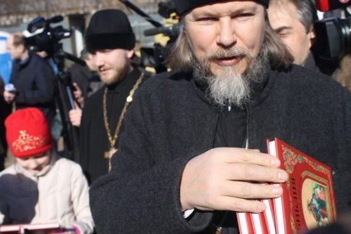 День   православной   книги в храме Святителя Спиридона Тримифунтского в Фили-Давыдково